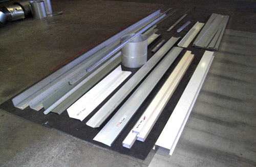 Flashings, Zincalume, Colorbond, Galvanised or Stainless Steel