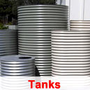 Metal Rain Water Tanks - Sunshine Coast